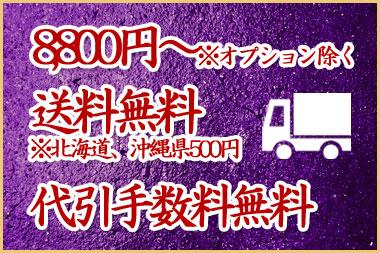 8800円以上のお買い物は送料、代引き手数料無料